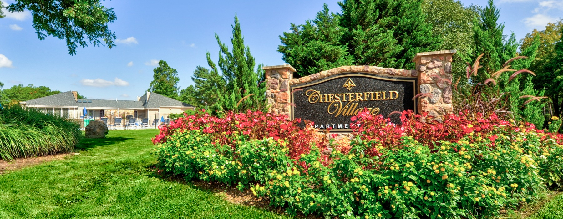 Chesterfield Village Entrance Sign