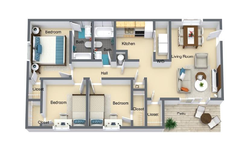 ashville floorplan
