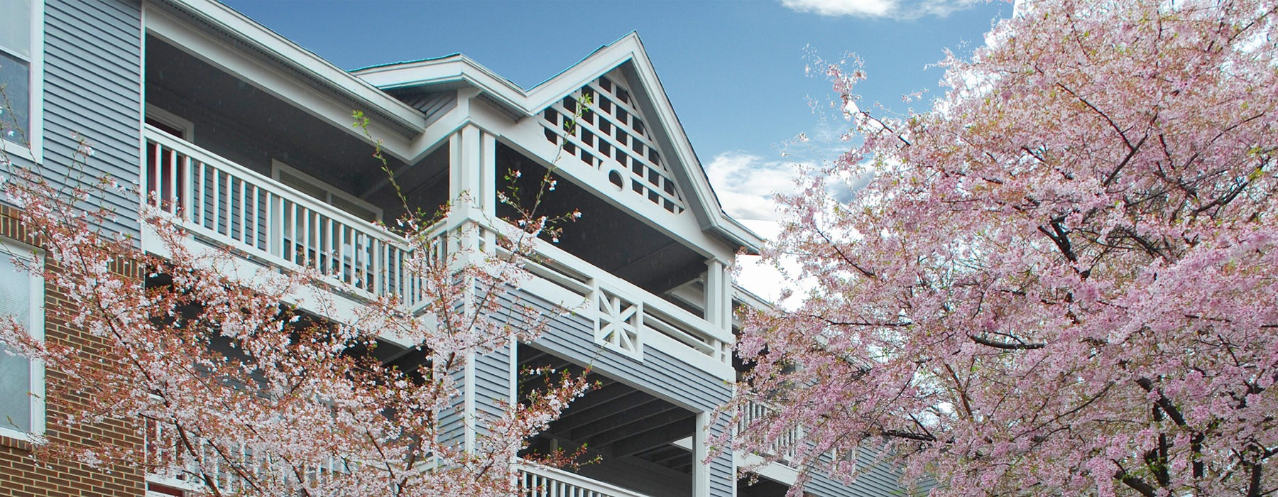 schedule a tour of our three-story apartment buildings with stairs