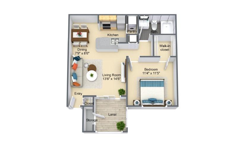cayman floorplan
