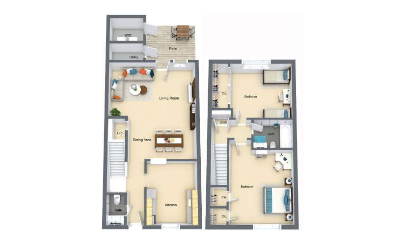 Heather Floorplan