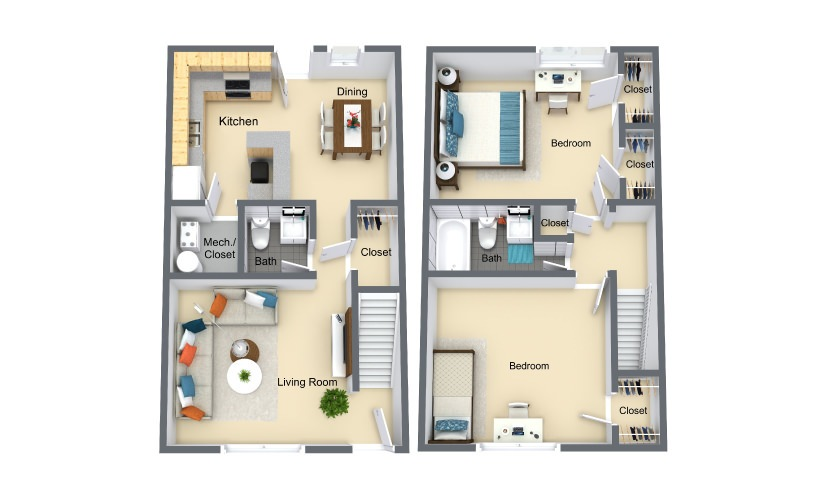 booker creek floorplan